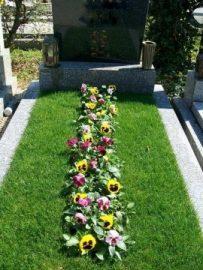 Grabgestaltung und Grabpflege